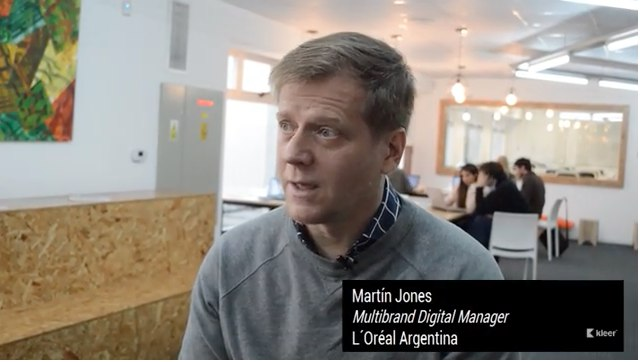 Martín Jones, Multibrand Digital Manager de L'Oréal Argentina